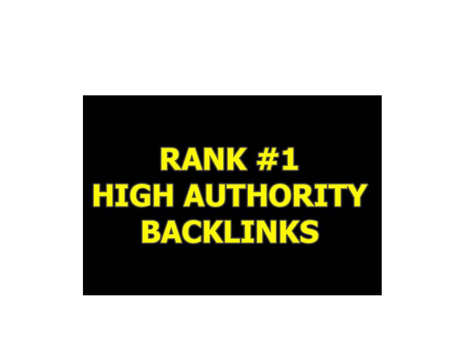 Build,  High Quality SEO Backlinks, To Website Improving