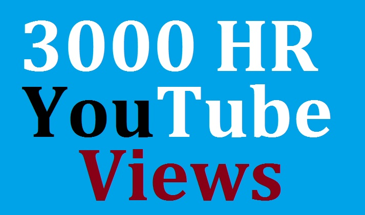 Safe 1000 Youtub-e  view's fast in complete
