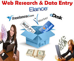 All type of Data Entry & Web Research Jobs