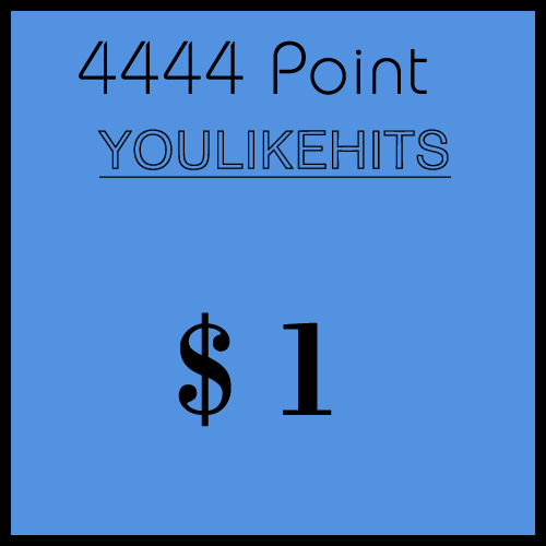 [YOULIKEHITS] Ready account 3000 points