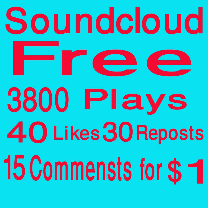 3800 soundcloud plays and 15 comments and 40 likes 30 repost within 12 hour
