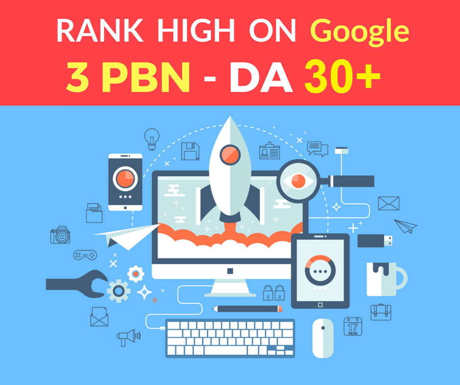 I provide You Spam Free 3 PBN Posts High Metrics Domains DA 30+