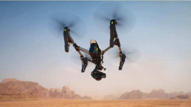 I Create A Quadcopter Drone Intro