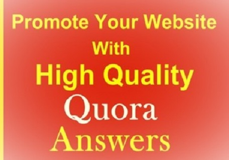 10 High-Quality Quora Answers With Your Keywords & URL