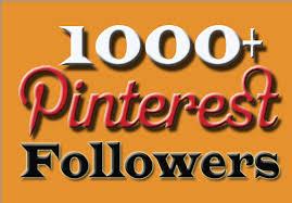 1000+ Real Worldwide Pinterest Followers