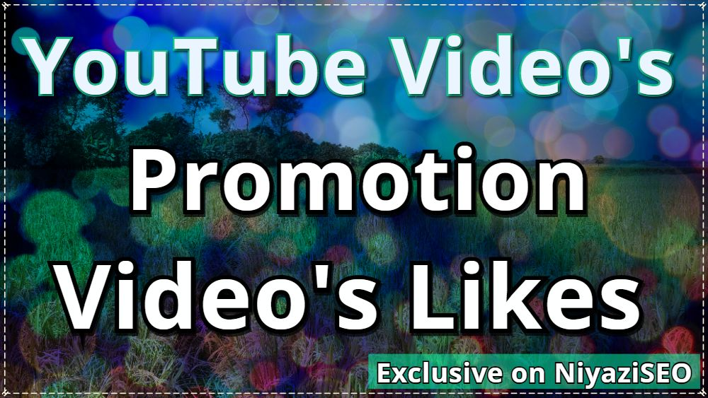 I will do Video Promotion 100 Like Non Drop And ultra fast completed
