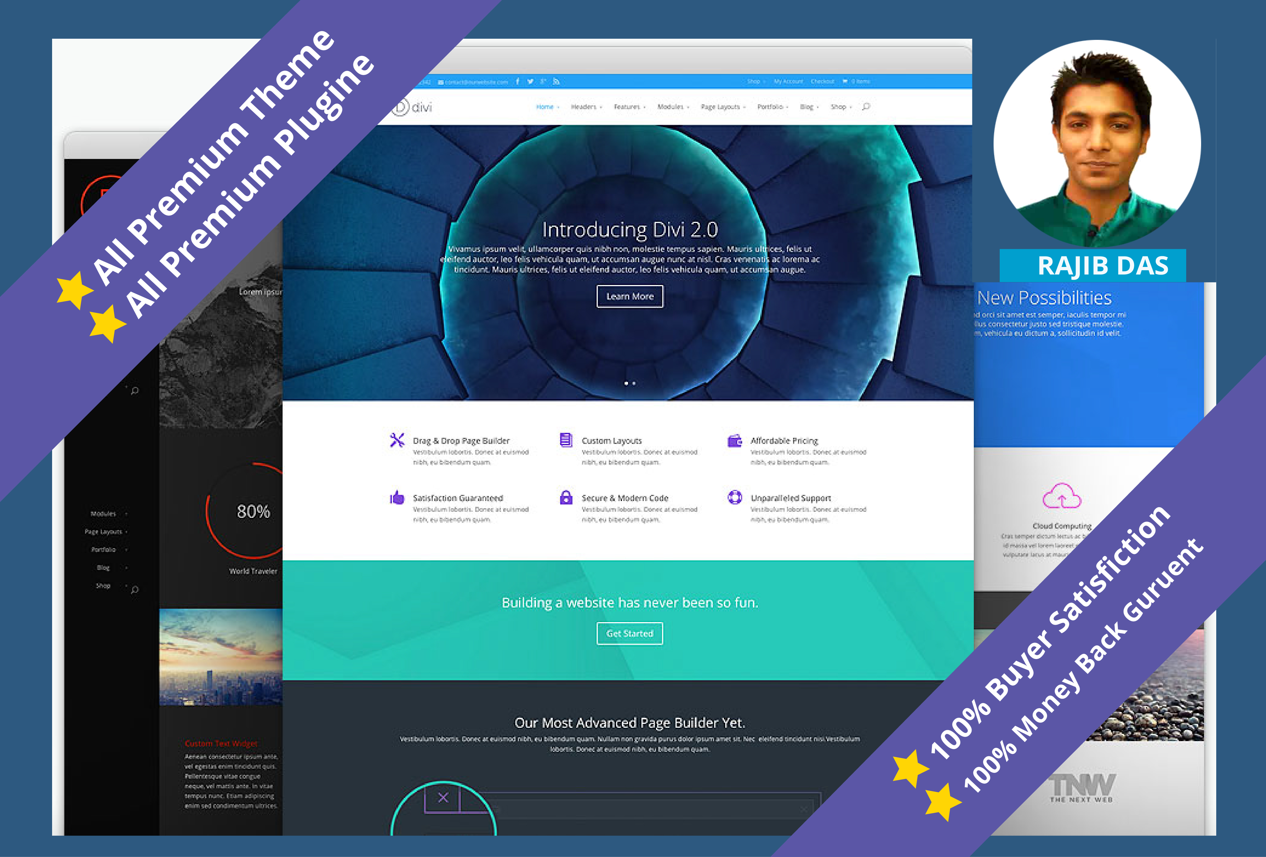 Create A Professional Eye Catching WordPress Website With Blog