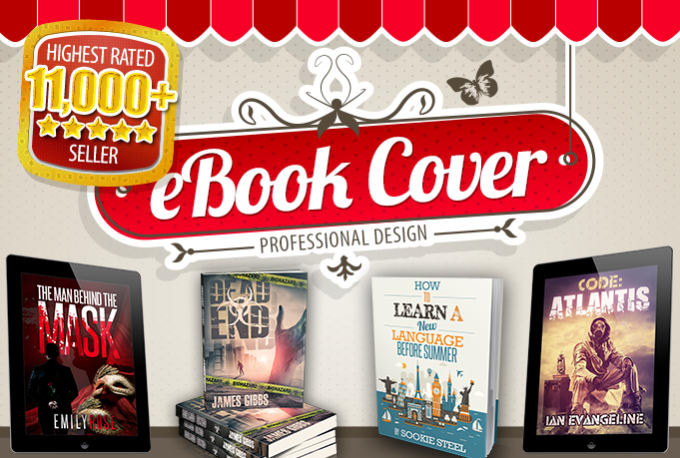 Design A PROFESSIONAL Book Cover Within 24 Hours