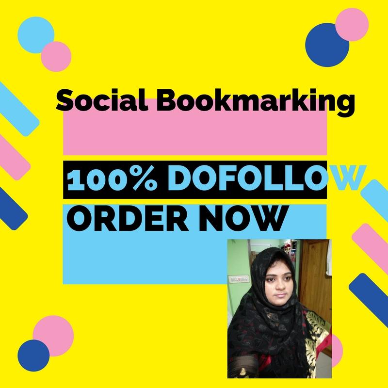 Social Bookmarking 100 Do follow, superb, active Backlinks