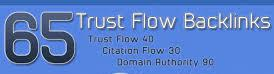 65 High Trust And Citation Flow Backlinks On High DA
