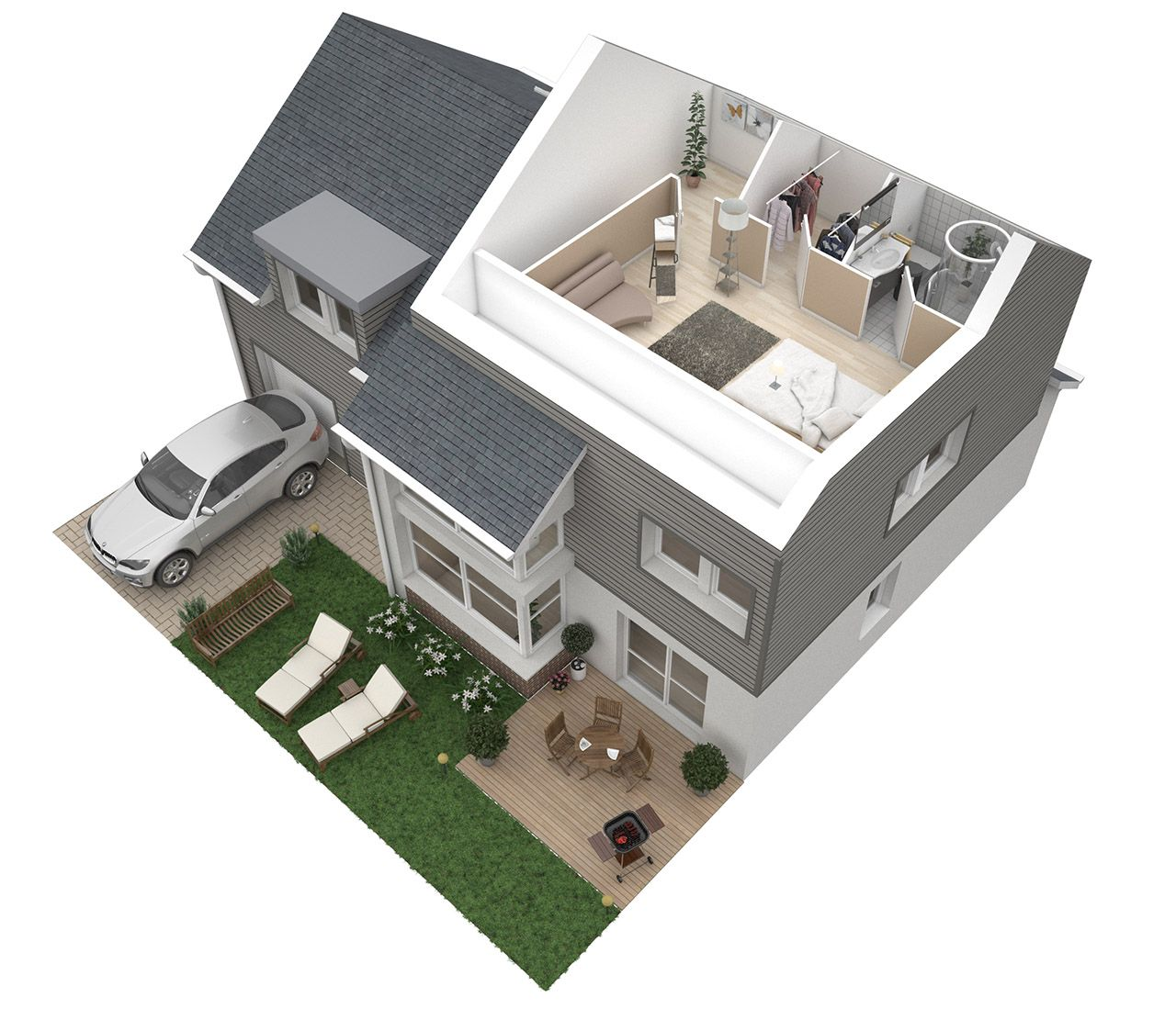 Home 3d Design Online Minimalist: Create A Fastest 3D Floor Plan For $26