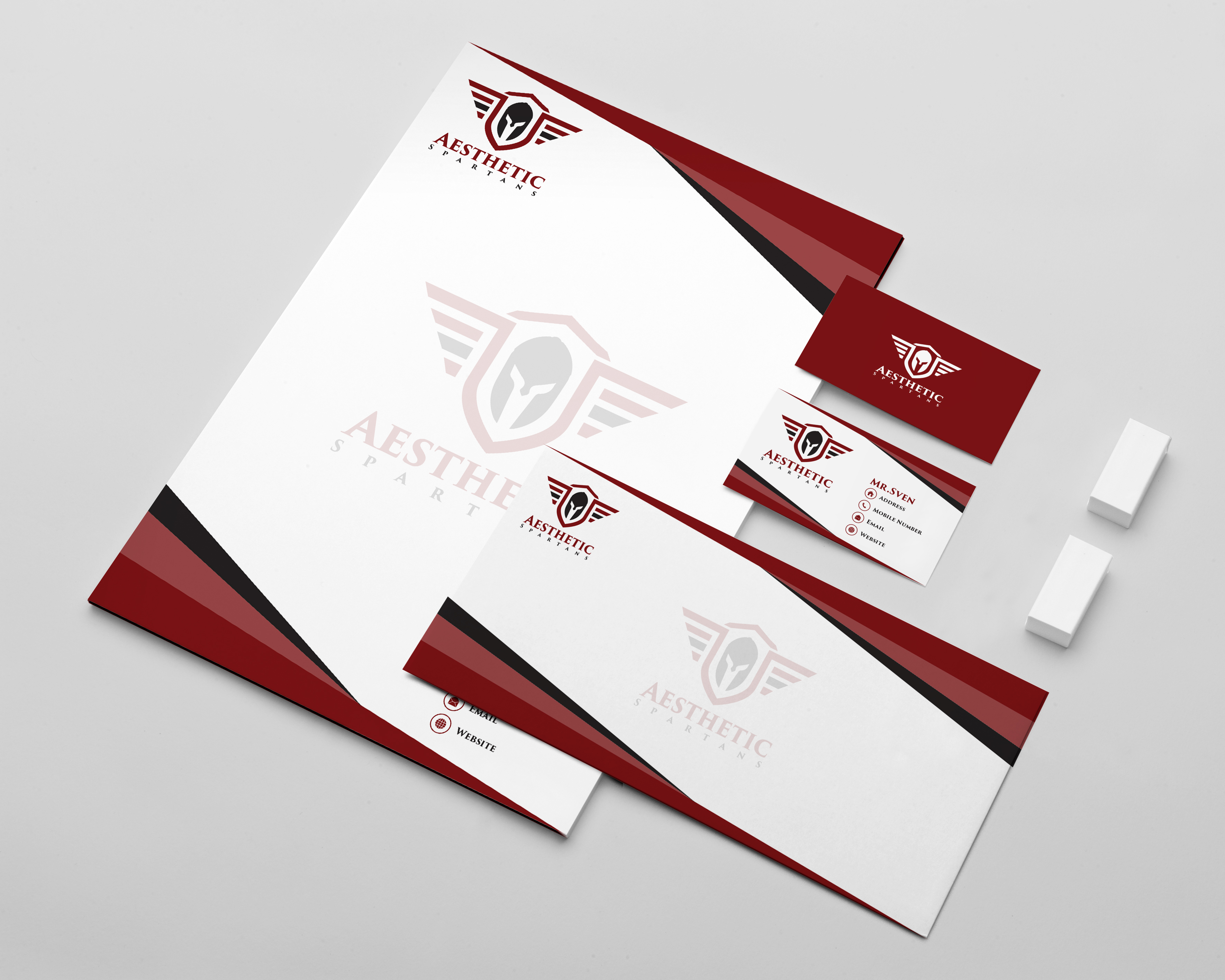 create professional stationary for your company or business for 5
