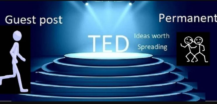 Write+ publish Guest post on Premium website ted.com