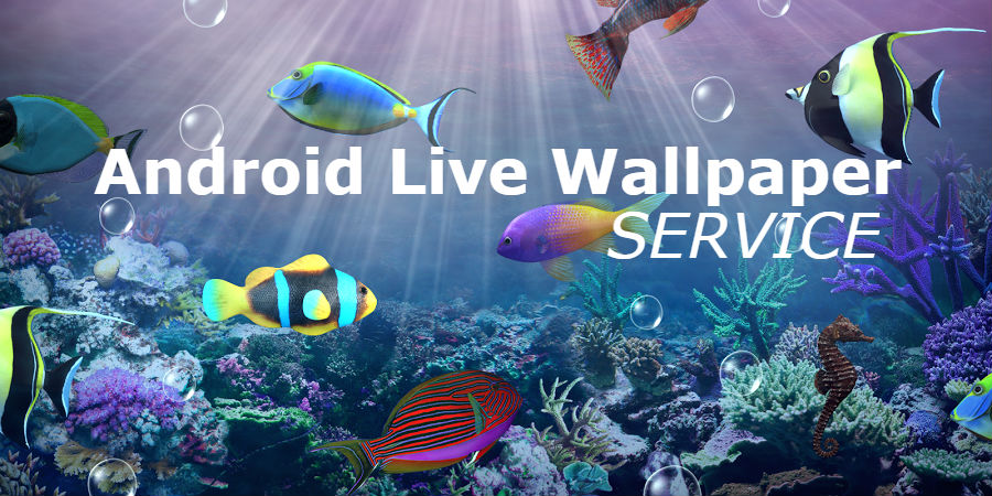 I will make an Android live wallpaper app included admob