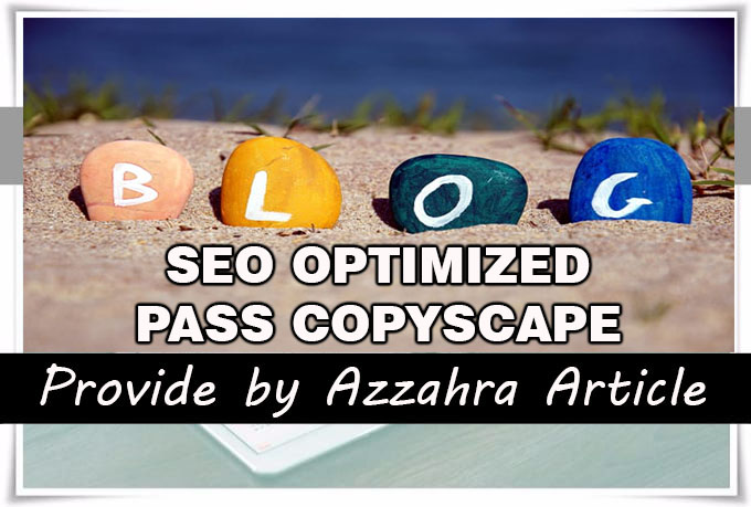 I Will Write 5 Articles 500 words each, SEO Optimized and Pass Copyscape
