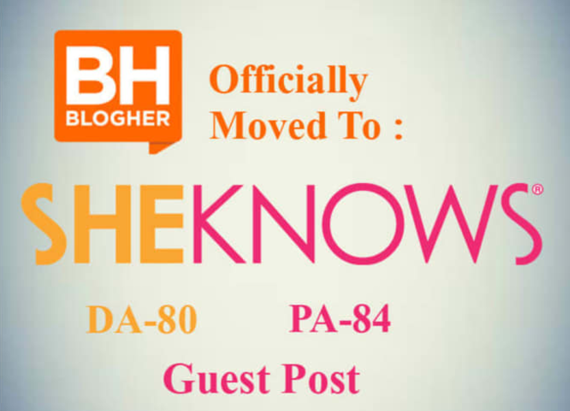 Post A Guest Blog On Sheknows