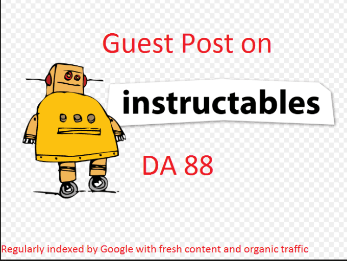 Do Guest Post On Instructables