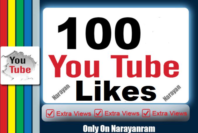 Get 100 Real YouTube Lik'es Instant Start