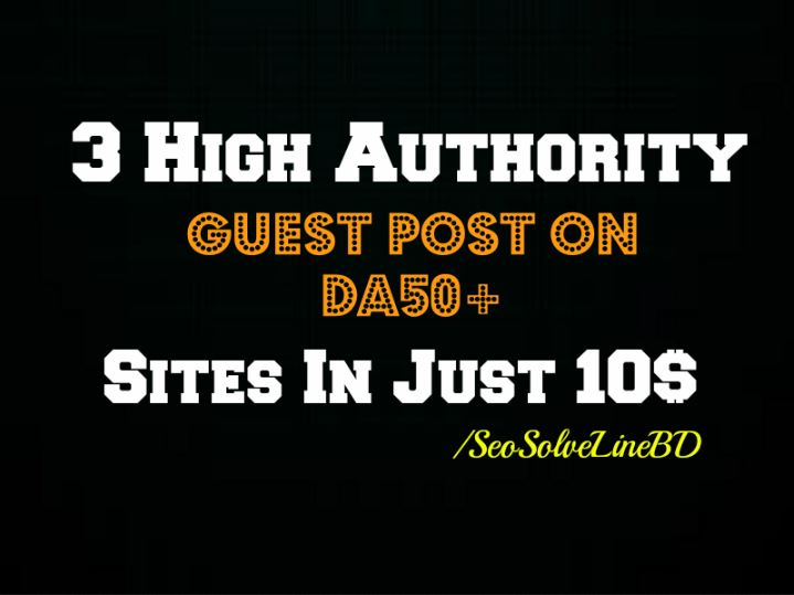 3 High Authority Guest Post on DA82 DA80 DA79