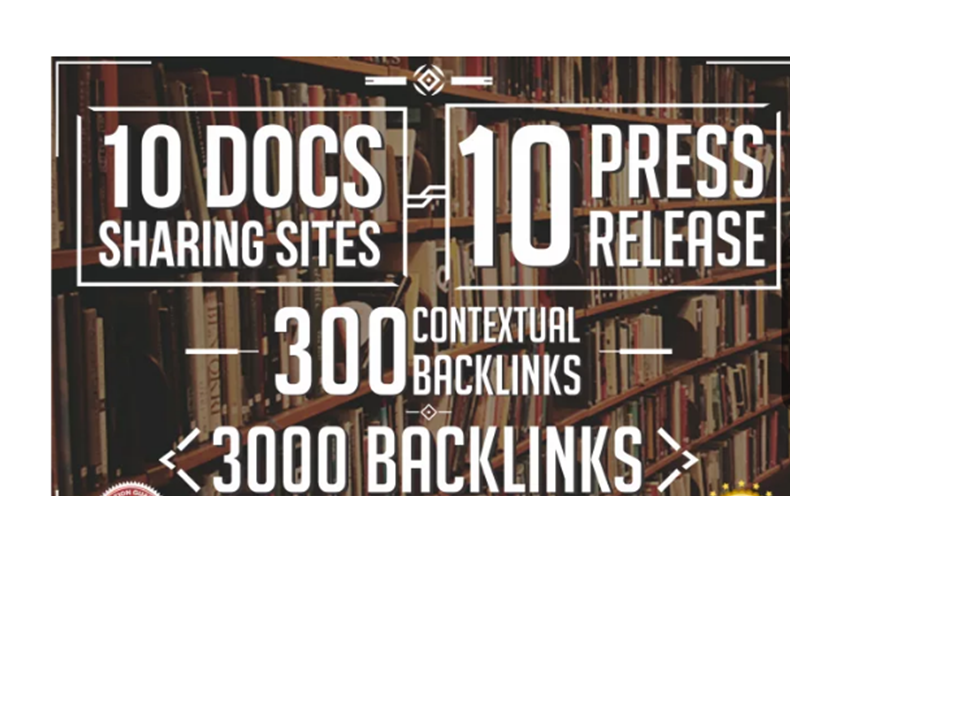 Do Seo Pyramid 10 Press Release,  10 Pdf Sites, 300 High Pa Da,  3000 Backlinks