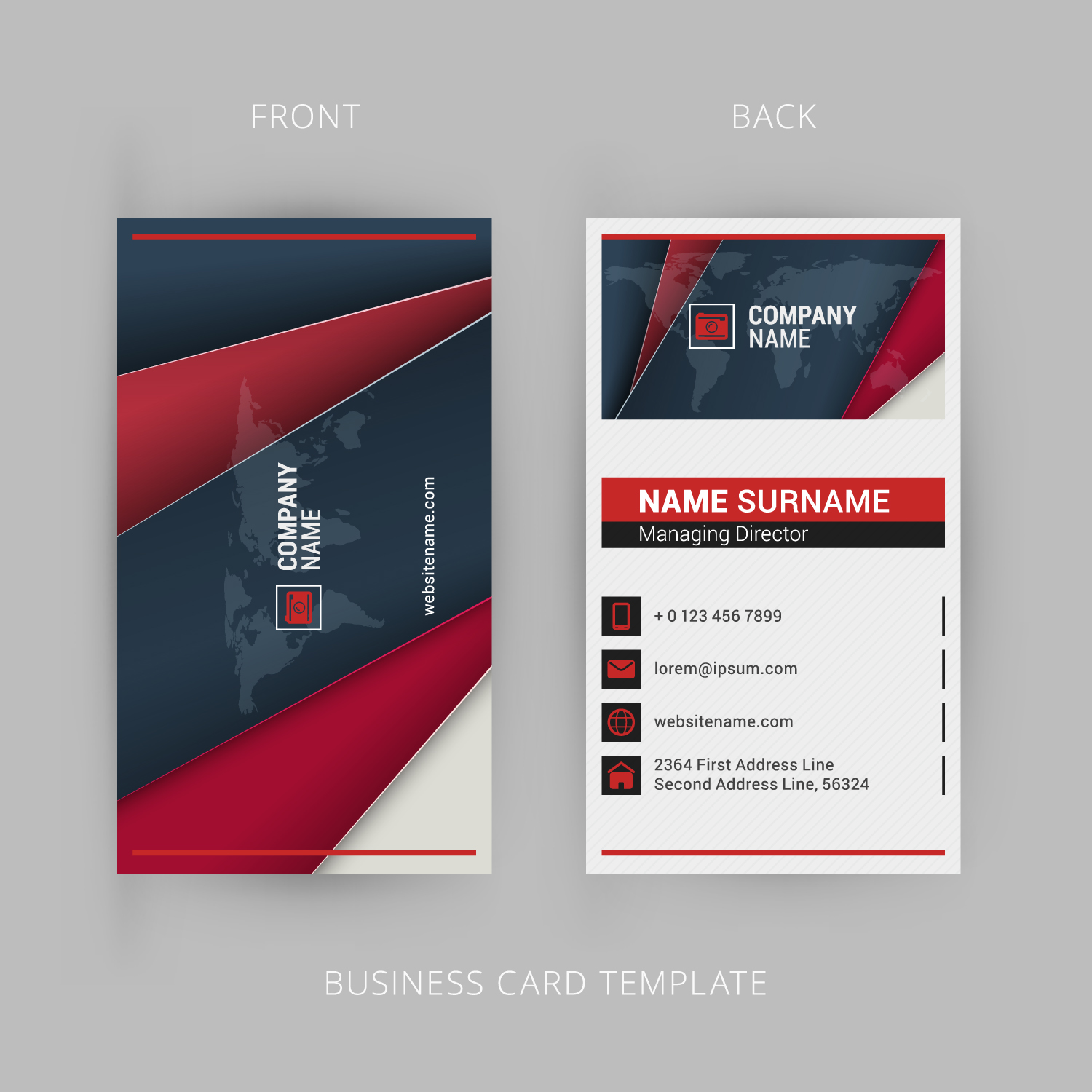 Design three different types of business cards in one deal for 5 design three different types of business cards in one deal colourmoves
