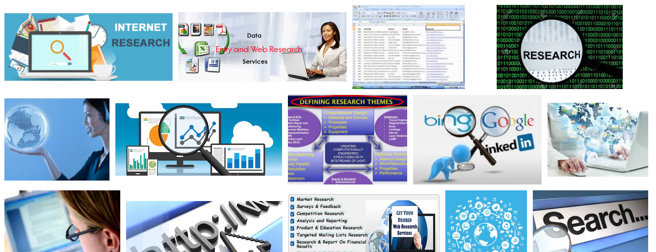Large Number of Web Research