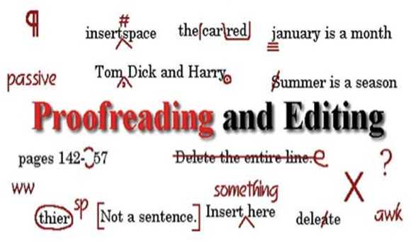 critically PROOFREAD and Edit up to 1000 words within 24 hours