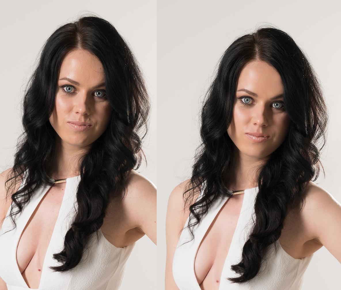 Portrait Retouching: Fashion Retouching of 2 Images