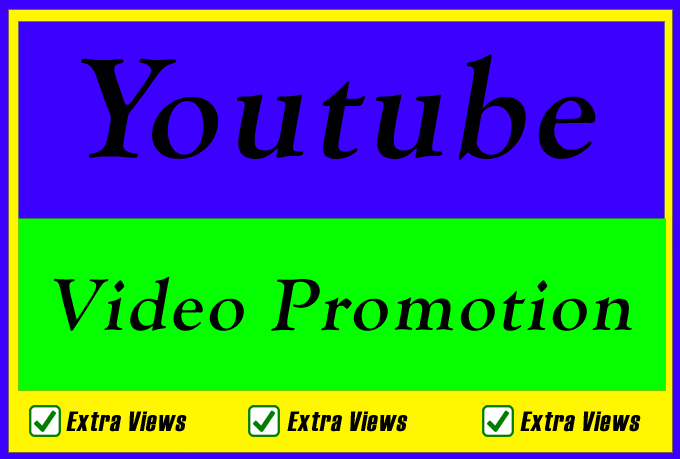 Organic Video Views Likes Comments Promotion and Marketing