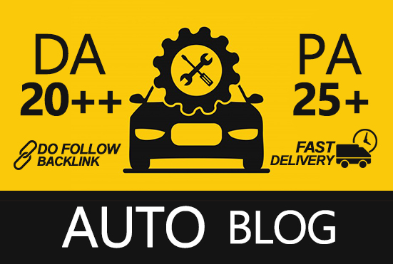 I Will Submit Guest Post On Quality Auto Blog