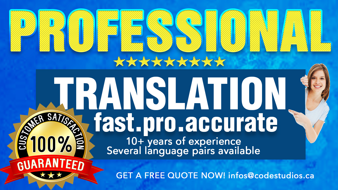 Top English to French Translation - Affordable, Fast & Professional