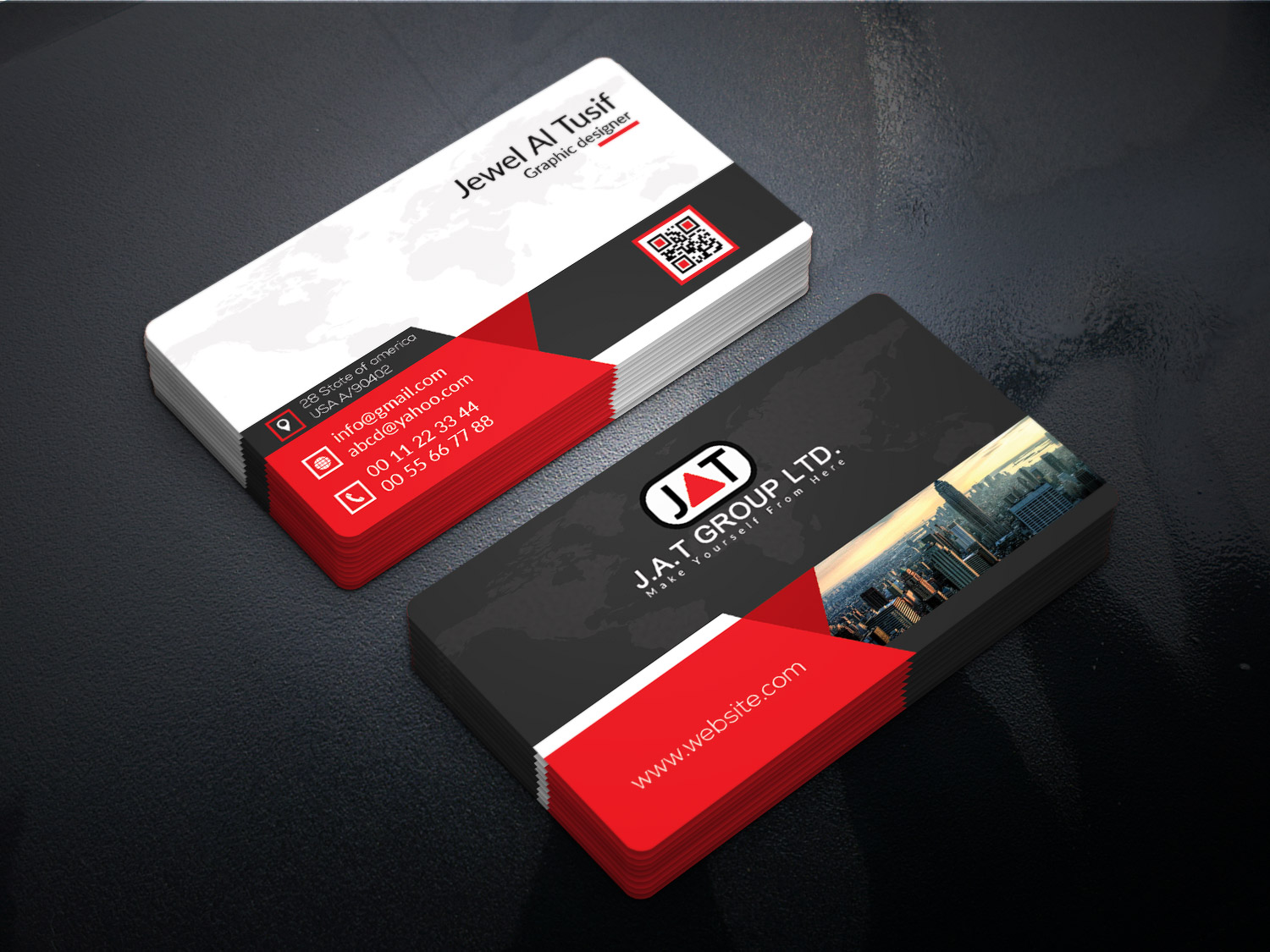 Design A Marvelous Business Card in 24 Hour