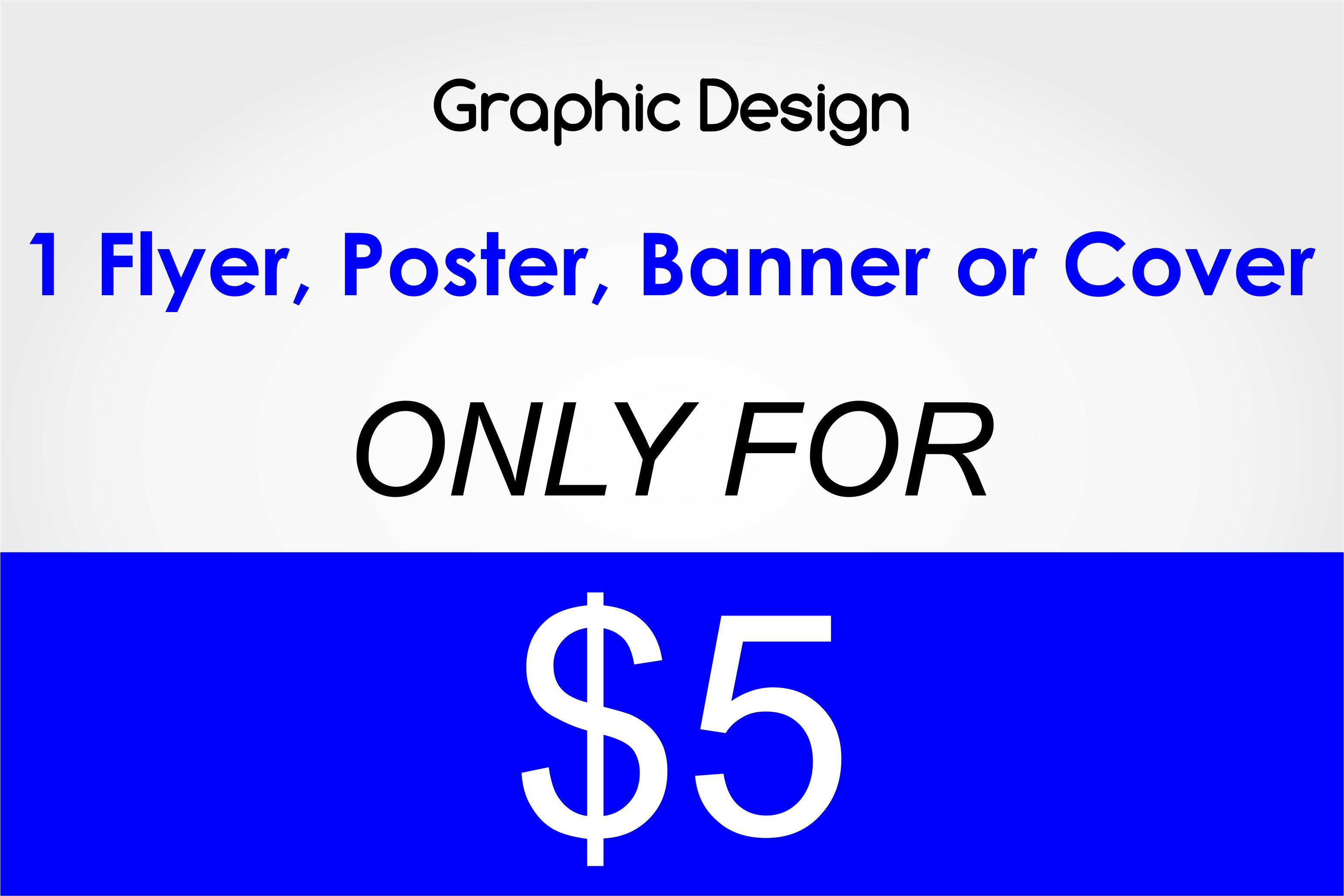 Graphic Designer For 5