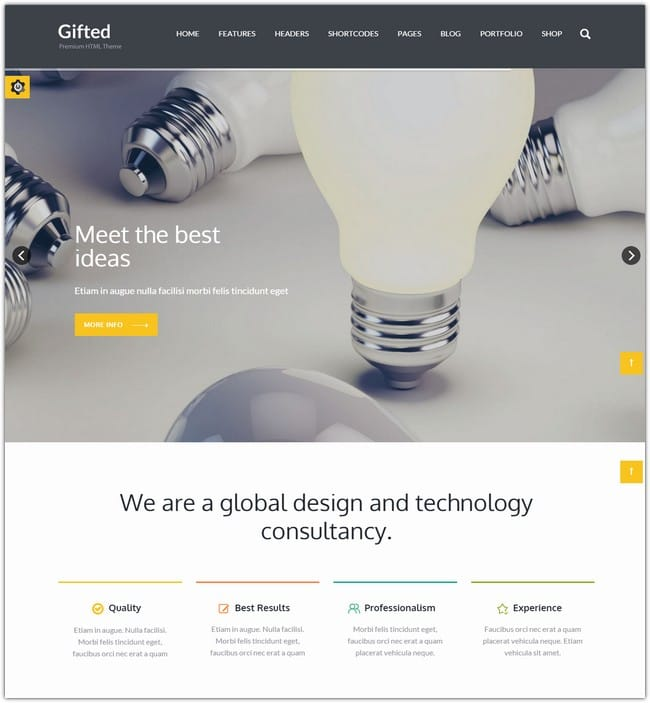 Design Simple 5 Pages Html And Wordpress Website