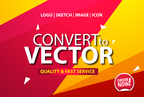 Redraw or vector your logo,  image,  sketch,  icon within 6 hours