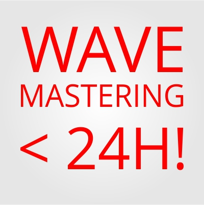 Very FAST and CHEAP AUDIO MASTERING WAV files < 24H