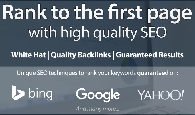 Google best Rank for Your Website to be FIRST Page Of Google