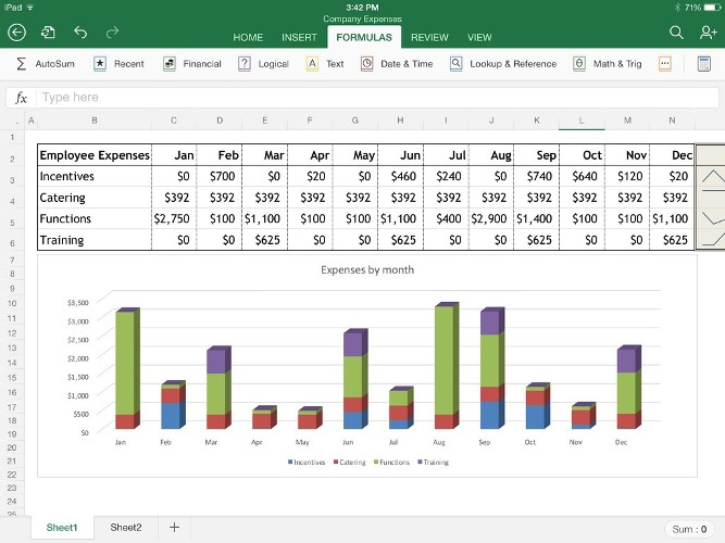 Create Advanced Excel Spreadsheet, Excel Reports With Macros