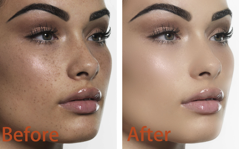Image editing,  image retouch