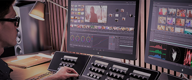 Professional video editing in short time