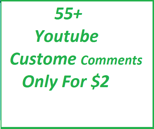 55+ YouTube Custom Comments with Profile Pictures Real Video Promotion just