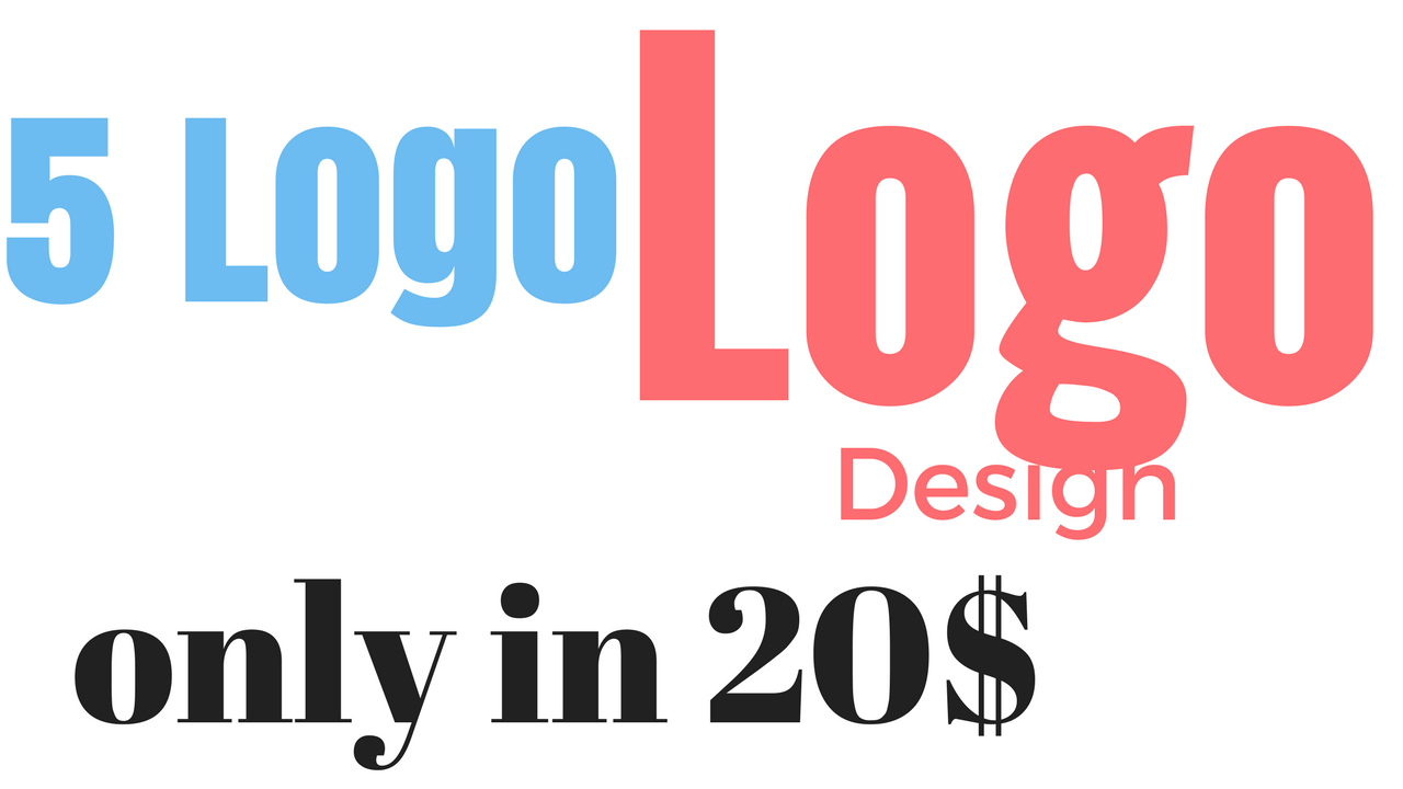 design 5 awesome logo for you in just 2 days