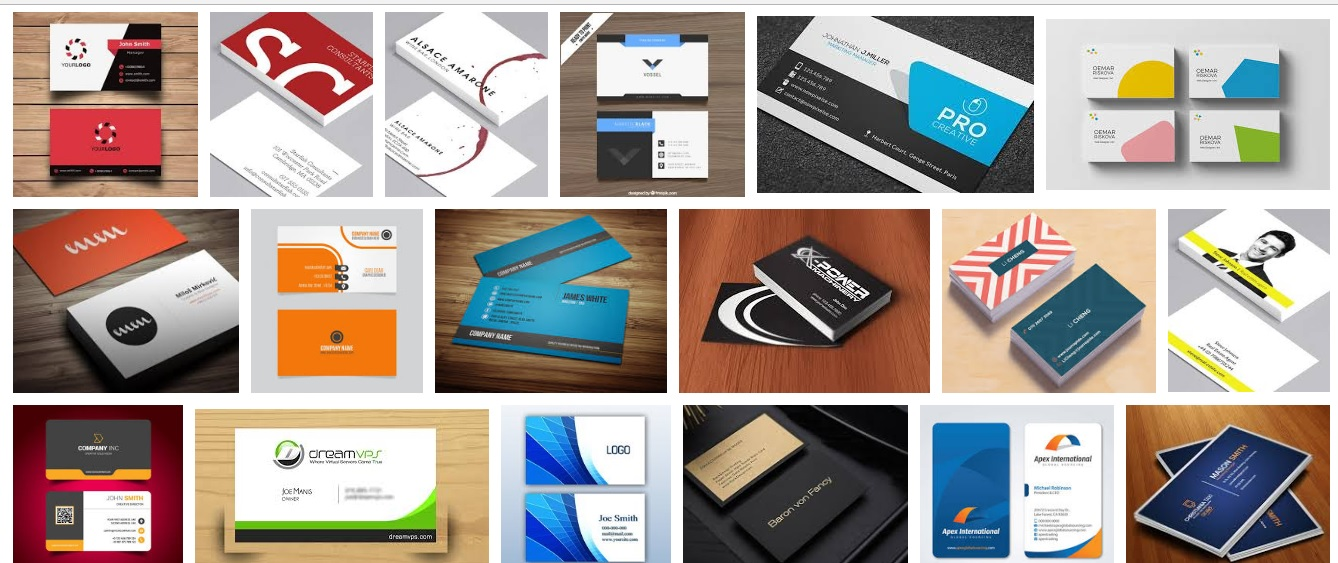 Business card design (two color) to any language