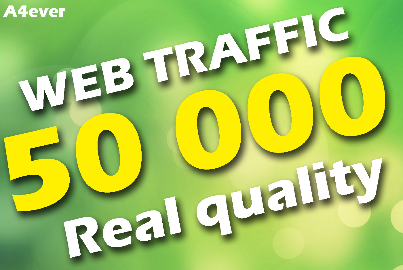 I will Drive 50 000 Real Web Traffic To Your Website From Social Media-Search Engines