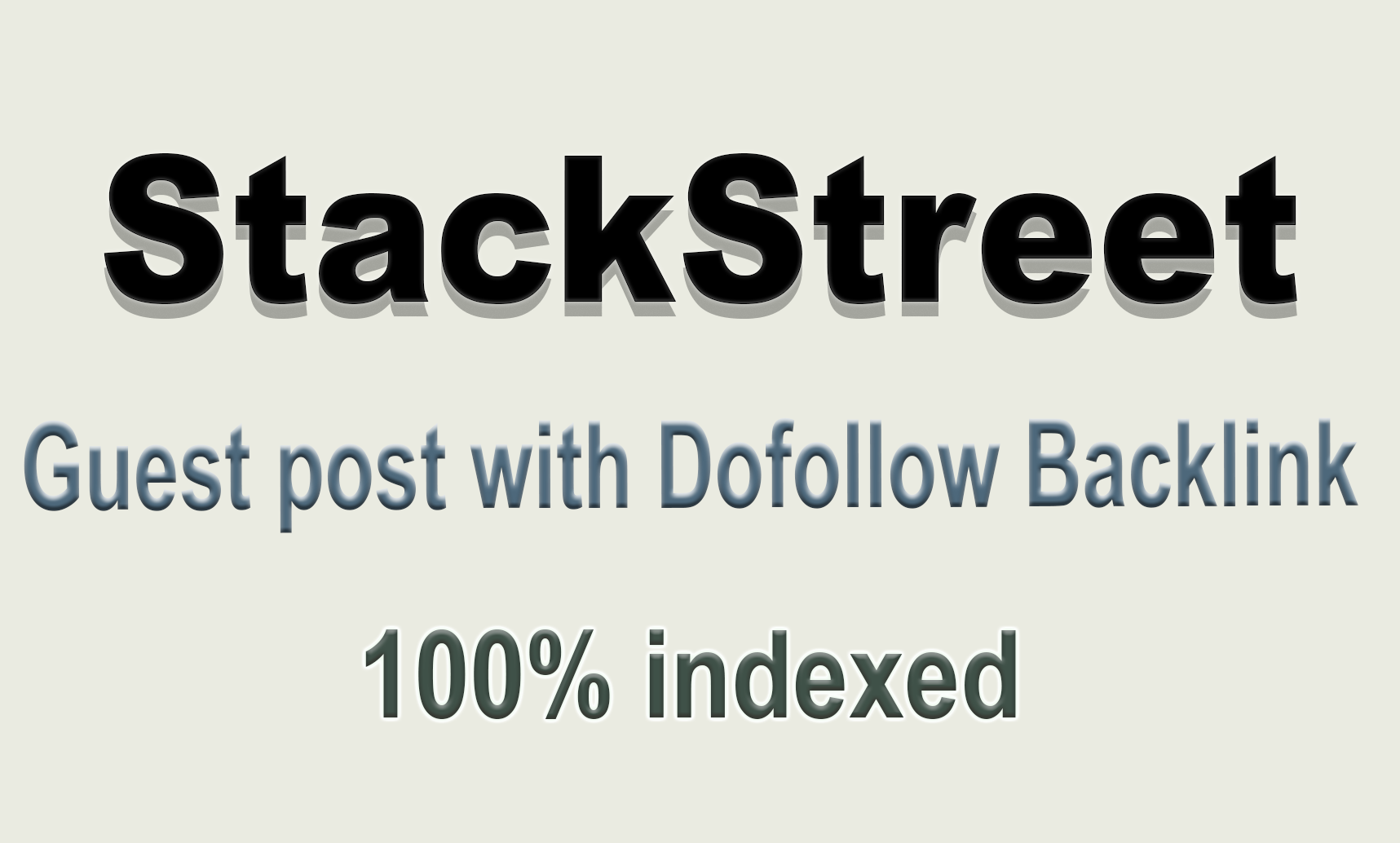 Publish Guest Post On StackStreet