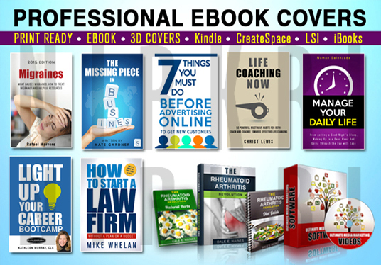 Professional eBook Cover Design With Experts Level