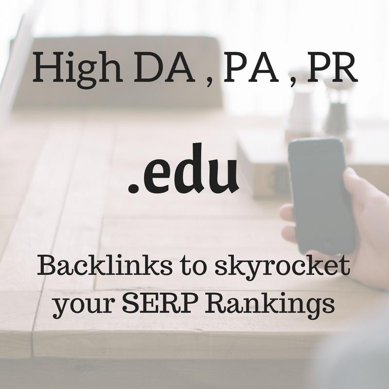 10 High DA Low OBL. edu Dofollow Comment backlinks to skyrocket your SERPs