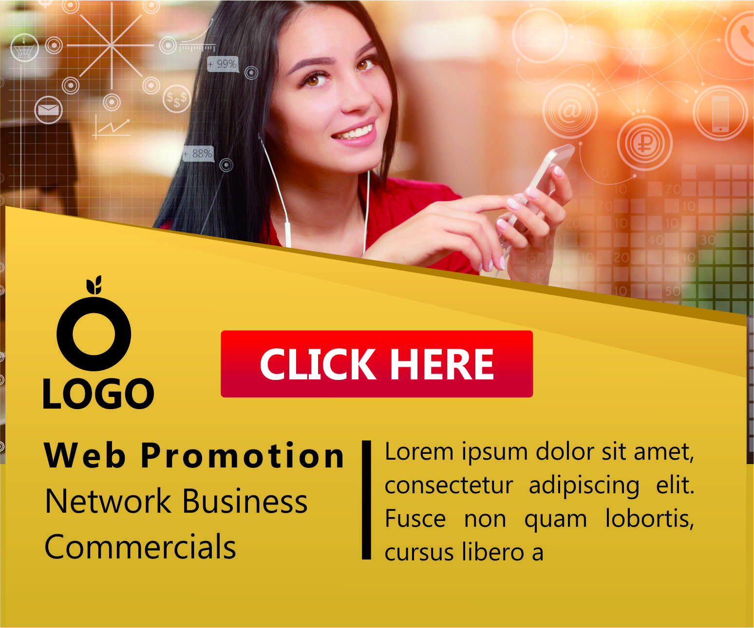 Profesional Design web banner,  header,  ad,  cover
