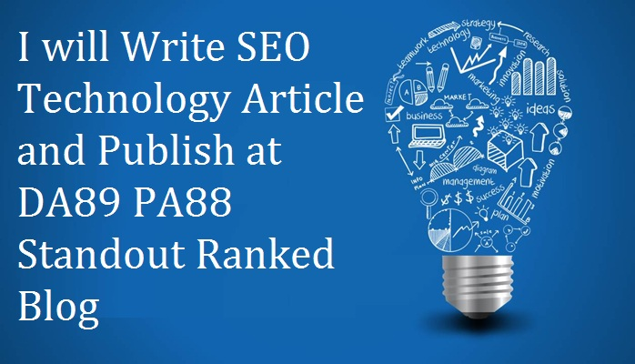 Writing 400 words article and Guest Post at DA 80 +