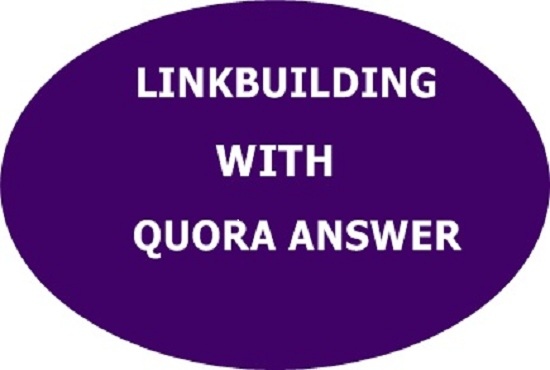 Get more organic traffic through high quality quora answer backlink